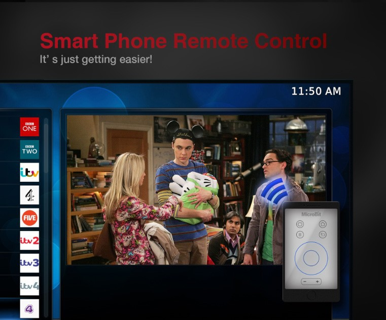 Smart Phone Remote Control