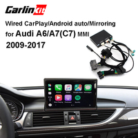 Carlinkit Wired Apple CarPlay Decoder for Audi A6 A7(C7) 3G/3G+MMI muItimedia interface CarPlay&Android auto Retrofit Kit