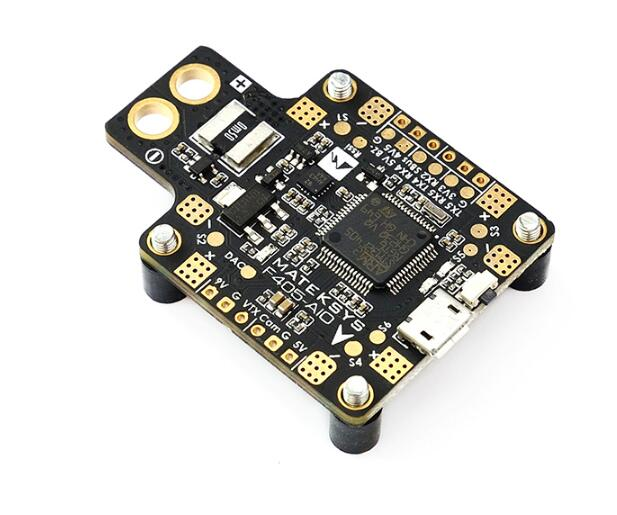 Matek Systems F405 AIO BetaFlight F405-AIO STM32F405 Flight Controller Built-in PDB 5V/2A & 9V/2A Dual BEC