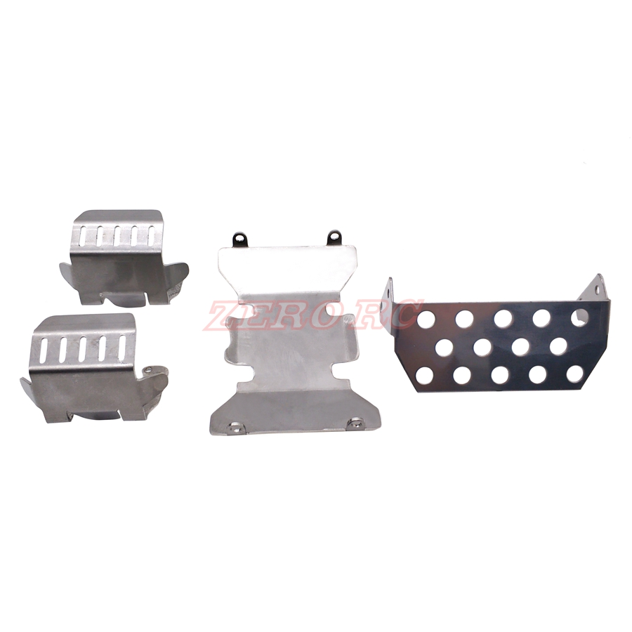 Chassis Skid Plate For 1//10 AXIAL SCX10 II 90046 Axle Protector COOL Front