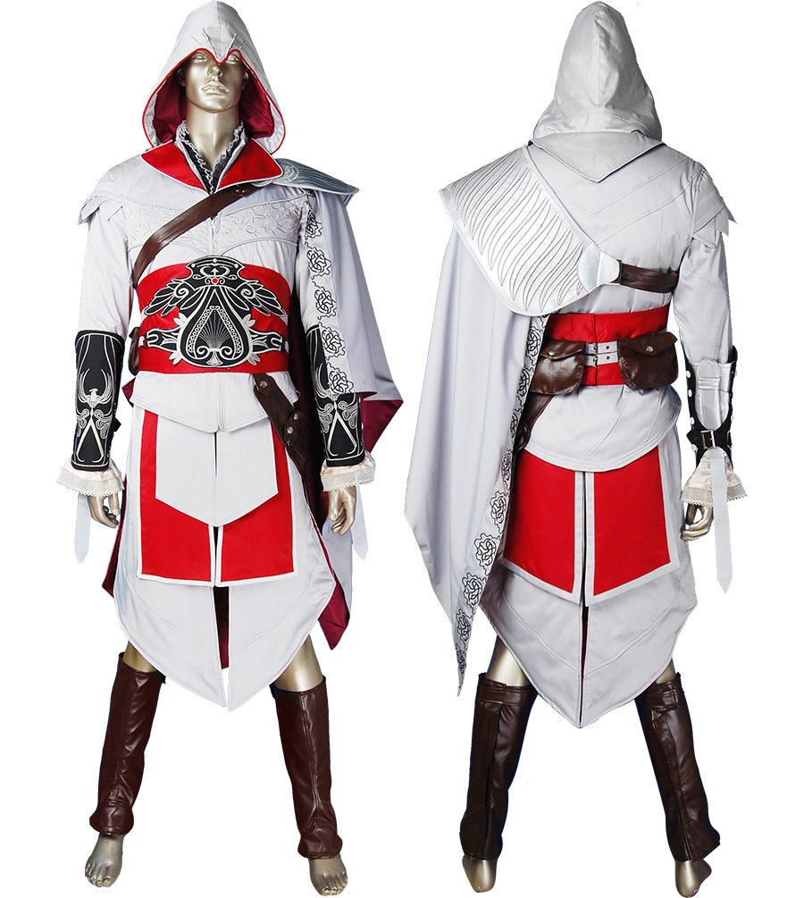 Brotherhood Ezio cosplay costume halloween costume comic-con anime costumes video game outfit geek costume
