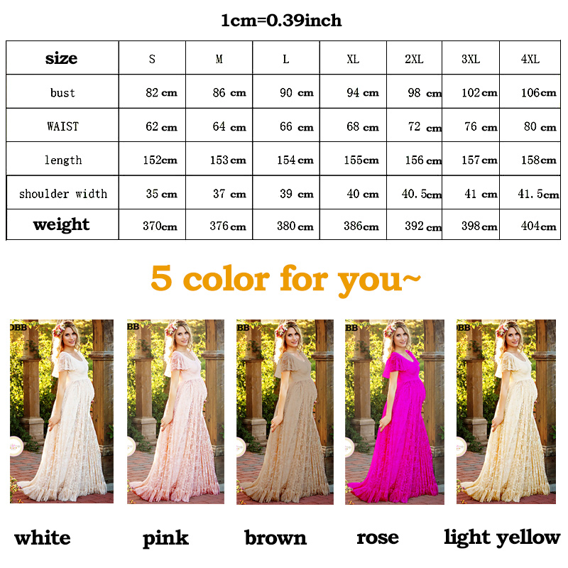 Maternity Dress Maternity Photography Props White Lace Sexy Maxi Dress Elegant Pregnancy Photo Shoot Women Maternity Lace Dress in Dresses from Mother Kids