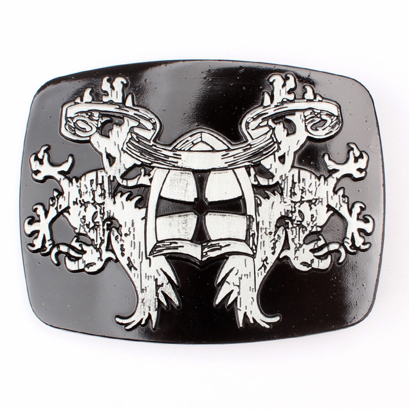 European And American Style Logo Belt Buckle