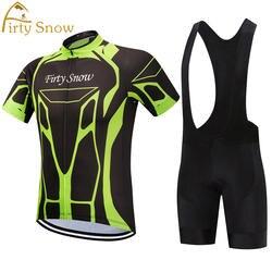 2019 Firty sonw Велоспорт Джерси велосипед нагрудник шорты для женщин дышащая Ropa Ciclismo для мужчин лето быстросохнущая MTB Велосипедный спорт Костю