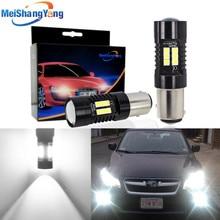 2 sztuk 1156 BA15S P21W LED BAU15S PY21W BAY15D LED żarówki 1157 P21/5W R5W 21 sztuk 3030SMD lampa samochodowa żarówki samochodowe LED 12V   24V