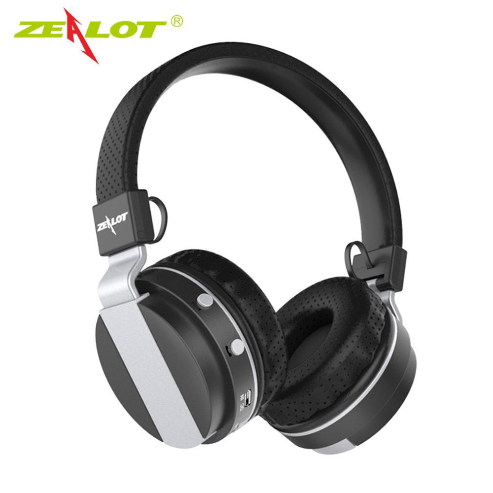 ZEALOT B17 Wireless Bluetooth 4.0 Headphone With Microphone Headset Foldable Size with FM Radio TF Card Slot Hot Sale in stock!!