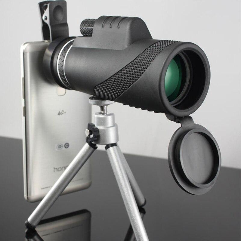 Di alta Qualità 40x60 Potente Binocolo Zoom Binoculare Campo Occhiali Grande Palmare Telescopio Militare HD Professionale di Caccia