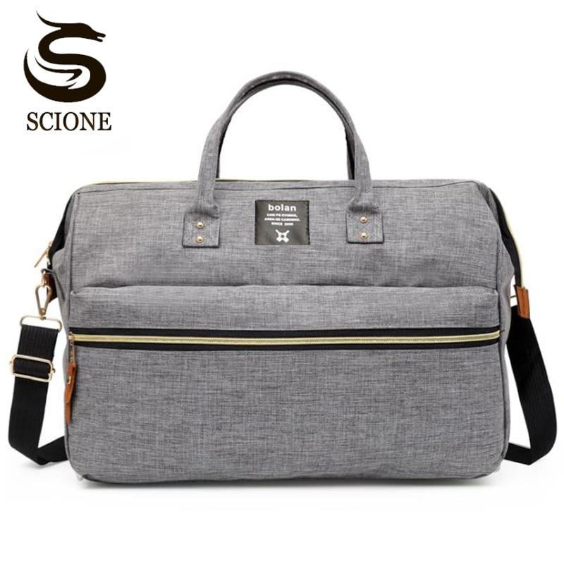 Top Quality Female Handbag Women Men's Travel Duffel Bag Causal Soft Shoulder Bag Large Capacity Luggage Crossbody Bags Tote