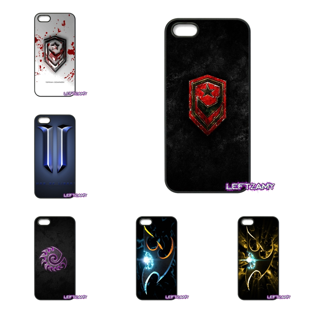 StarCraft Logo Hot Games Blizzard Hard Phone Case Cover For iPhone 4 4S 5 5C SE 6 6S 7 8 Plus X 4.7 5.5 iPod Touch 4 5 6