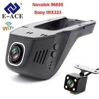 E ACE Car DVR Novatek 96655 SONY IMX 323 Hidden Registrator Camera Mini Auto Video Recorder FHD 1080P Night Vision WiFi Dash Cam