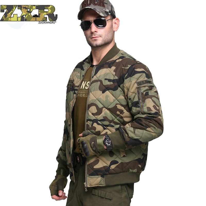 Hiver hommes épaissir veste nouveau Designer Camouflage grande taille épaissir veste manteau femmes pardessus extérieur chasse Sport veste