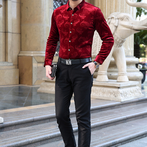 Image 3 - Mu Yuan Yang chemise à manches longues pour hommes, nouvelle collection de styliste, en flanelle de haute qualité, harujuku