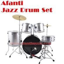 5 font b Drums b font 2 Crash Cymbals Silver color Afanti font b Music b