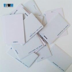 125 KHZ TK4100/EM4100 Somente Leitura de Cartão Clamshell Cartão De Controle De Acesso ID Cartão Grosso Cartão
