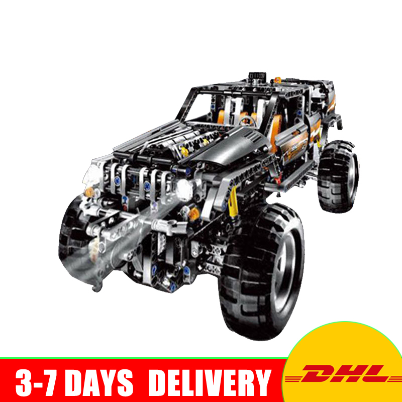 New Lepin 20030 Technic Ultimate Series The Off-Roader Set Educational Building Blocks Bricks Children Toys Gift Compatible 8297 skilhunt replacement control cord tail switch for x0 s2 flashlight black