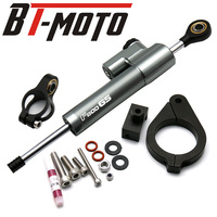 F800GS Motorcycle CNC Damper Steering StabilizerLinear Reversed Safety Control+Bracket For BMW F800GS/ADV F800 GS F 800 GS ADV