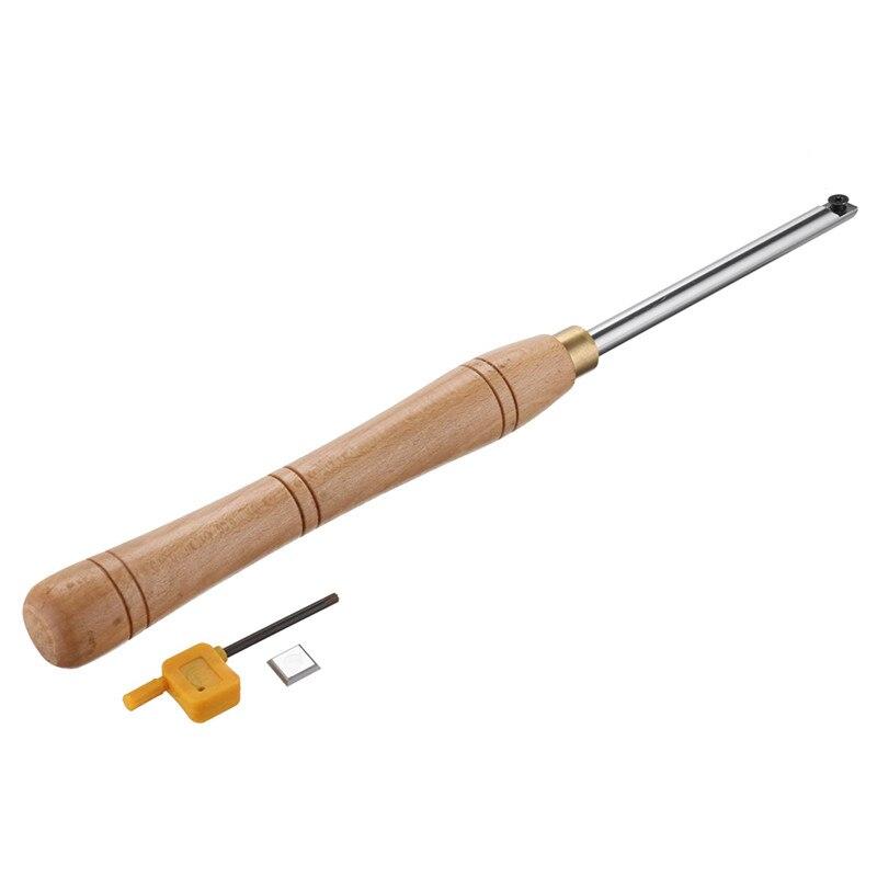 inserção cortador com alça madeira torno ferramentas