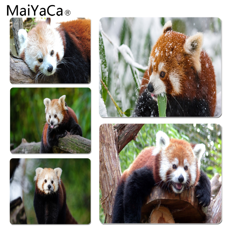 MaiYaCa Red Panda High Speed New Mousepad Size for 180*220*2mm Gaming Mousepads