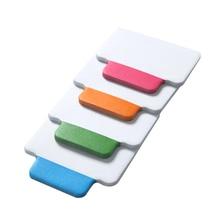 25 листов/4 цвета съемный указатель наклейка-закладка в блокнот канцелярские принадлежности Школьные офисные принадлежности