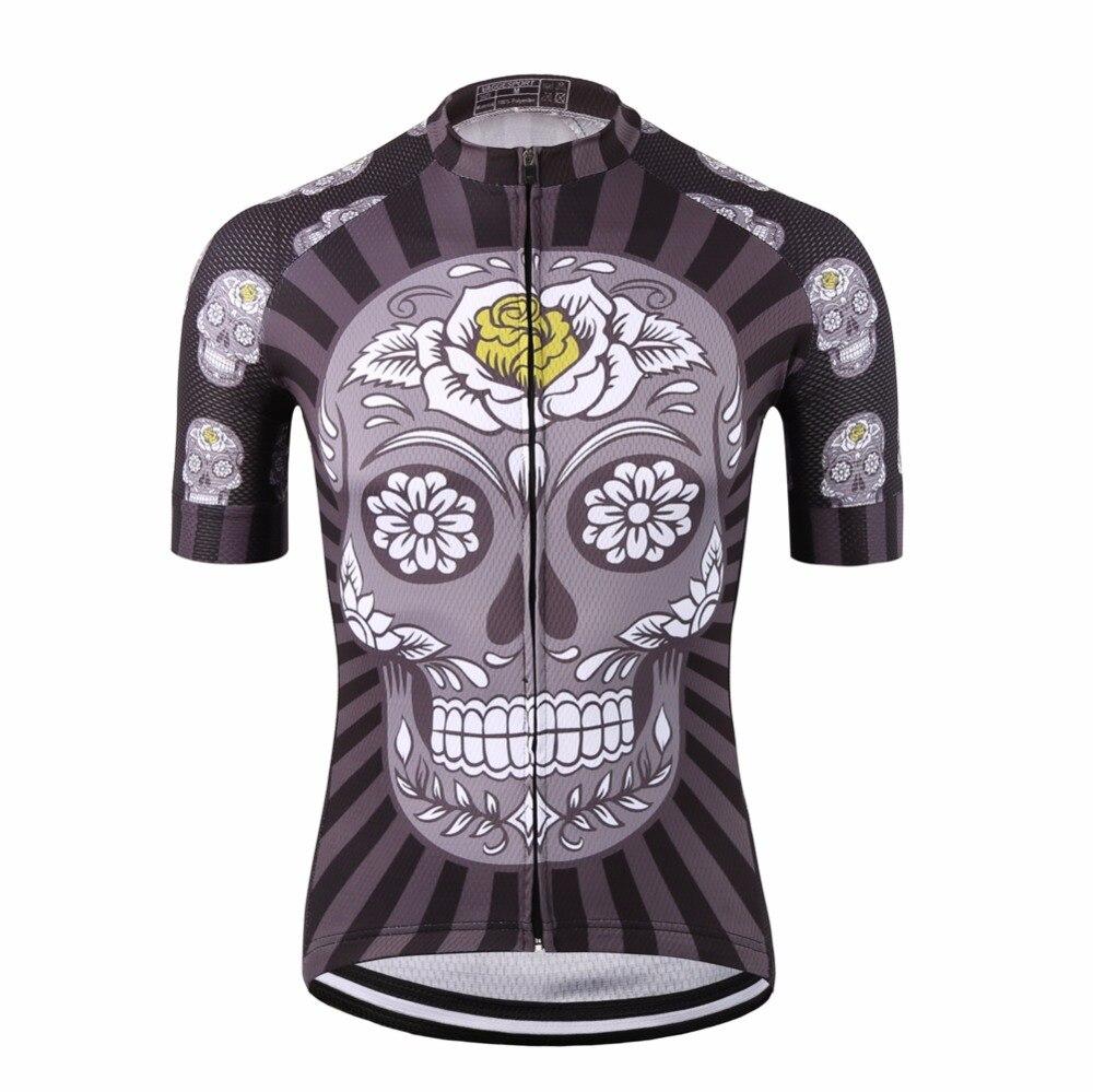 Schwarz kurzarm fahrrad kleidung/nationalen team compression radfahren shirts abbigliamento ciclismo/beliebte fahrrad jersey top