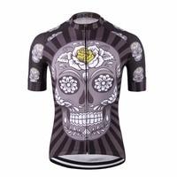 Zwart korte mouwen fiets kleding/nationale team compressie fietsen shirts abbigliamento ciclismo/populaire fiets jersey top