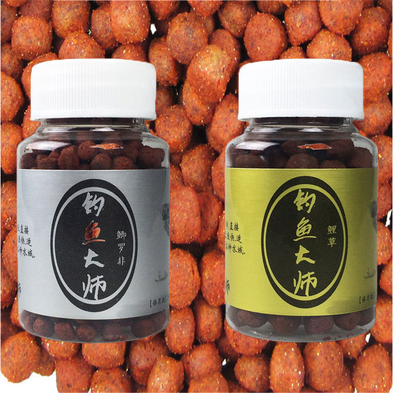 1 Bottle Micro-floating Carp Catfish Hook Fishing Baits Groundbait Fermentation Flavor Boilies