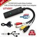 UTV007 Chipset EasyCAP USB 2.0 adaptador de captura VHS ezcap CINTA PARA PC CONVERTIDOR de DVD TARJETA de CAPTURA de VÍDEO y de AUDIO/ADAPTADOR