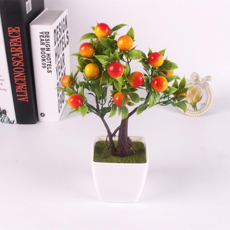 Emular Artificial Bonsai Simulación Flores Decorativas Artificiales Fake berry P
