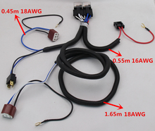 CHSKY Hot sale waterproof 12V 2 light H4 headlight font b wiring b font font b_220x220 compare prices on car wiring harness online shopping buy low kit car wiring harness at virtualis.co