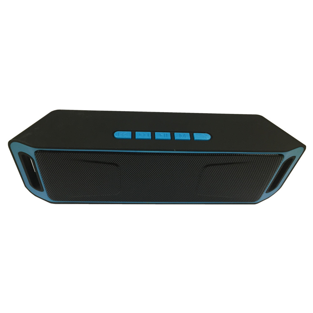 Itek Wireless Portable Bluetooth Speaker High-fidelity Bass Sound Subwoofer Dual Loudspeaker with Mic Support FM USB TF SD Card