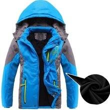 Inverno Addensare Caldo Cappotto del Bambino Abbigliamento Per Bambini Double deck Antivento Ragazzi Ragazze Giubbotti Tuta Sportiva Dei Bambini Per 3 14 anni di Età