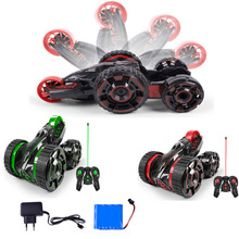 New 6 – channel flip stunt car wireless remote control car models dumping stunt children 's toys