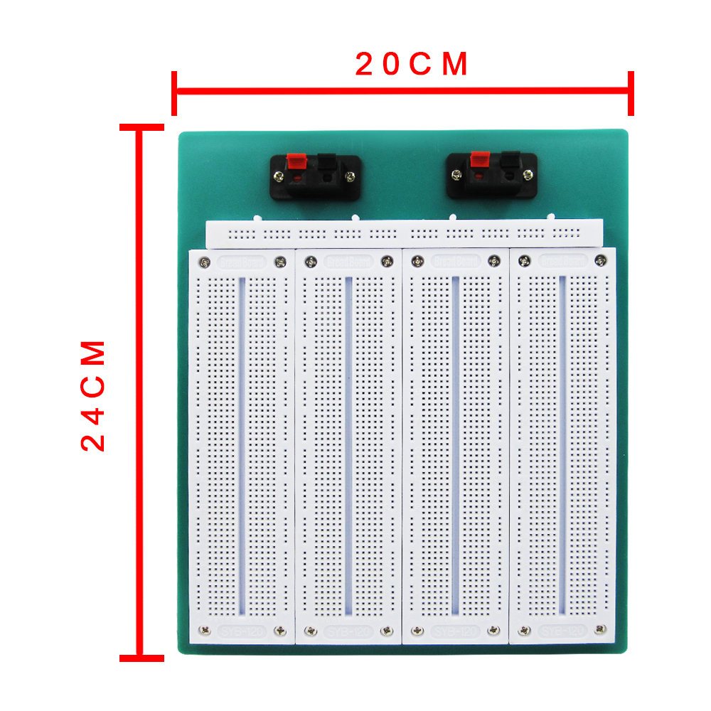 HAILANGNIAO 4 In 1 700 Position Point SYB-500 Tiepoint PCB Solderless Bread Board Breadboard 4 packs hot sale diy mw 204 raspberry pi breadboard mini solderless bread board test developing board high quality