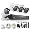 ANNKE 4CH NVR 720P HD IP Network PoE IR Outdoor CCTV Home Security Camera System
