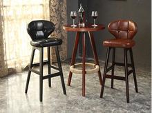 Твердый деревянный стул адвокатского сословия, стул. Европейский забрать стул высокие стулья.