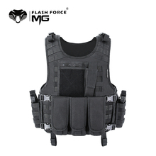 MGFLASHFORCE Molle Airsoft Vest Tactical Vest Plate Carrier Swat Fishing Hunting Vest Military Army Armor Police Vest wolf enemy ultralight ballistic plate carrier quick release police swat vest tactical ballistic armor plate carrier vest