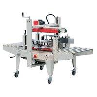 Semi Automatic Carton Sealing Machinery Top Bottom Seal XT5050 Box Case Adhensive Tape Taping Sealer Package