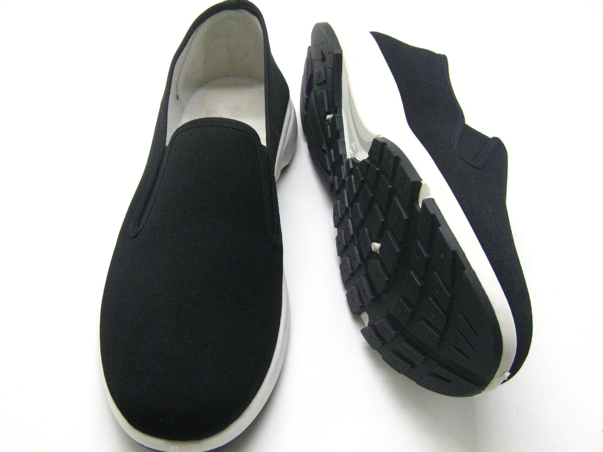 Confortables Plates Arrivent Style Pour Casual Hommes Haute Mâle 2018 Qualité Chaussures Noir Mocassins Toile Nouveau Elgeer Hq7wgTExO