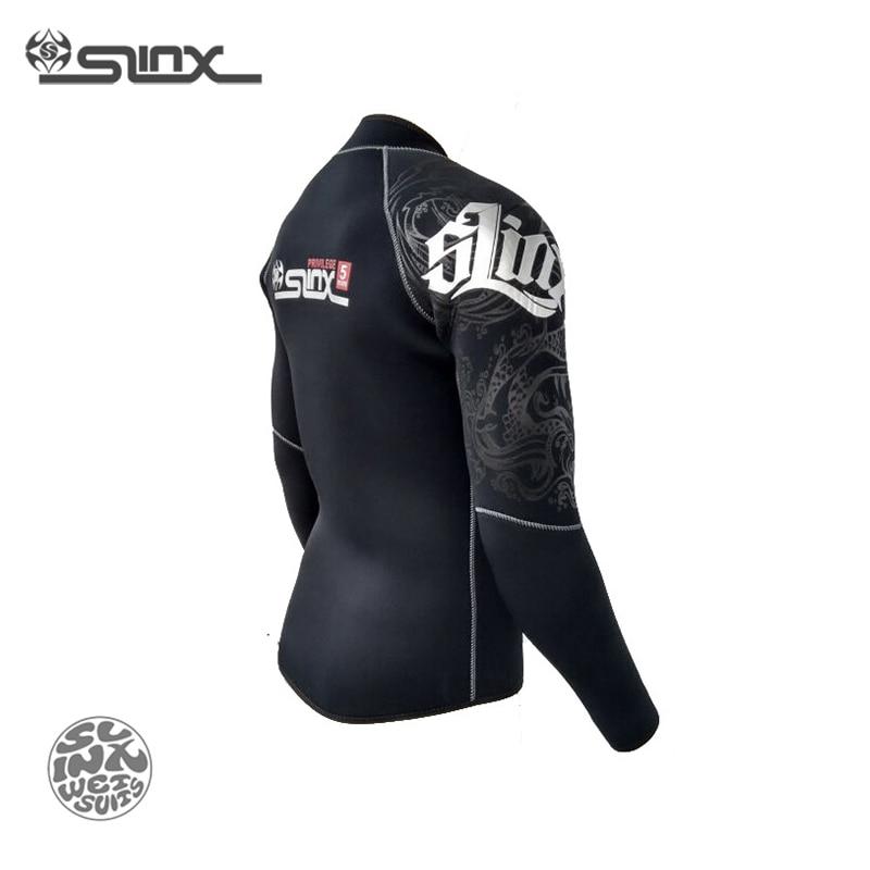 Slinx RivaRanger 1109 5mm néoprène polaire doublure veste chaude combinaison cerf-volant surf planche à voile maillots de bain nautisme plongée sous-marine - 6