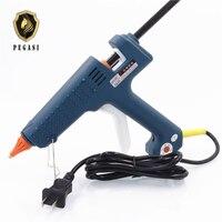 PEGASI 250W 100 240V Hot Melt A Glue Gun Stick 11mm Crafts Repair Tool Professional Temperature Adjustable