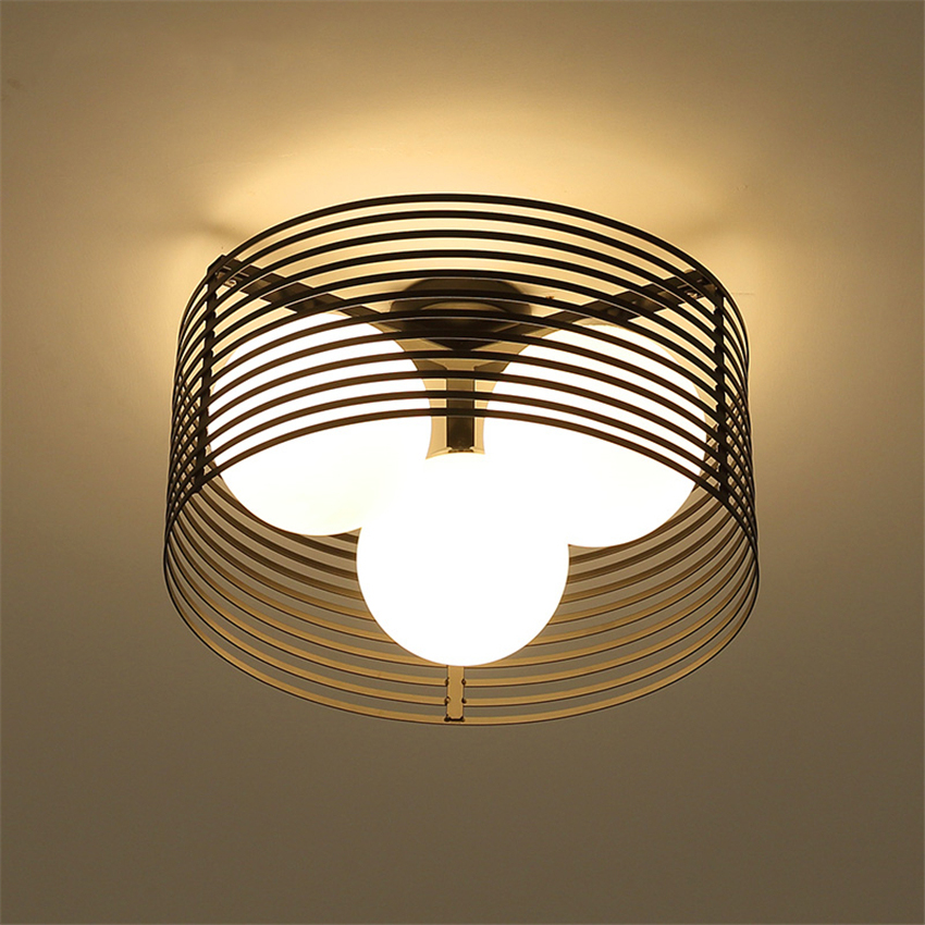 MOdern Light Led Loft E27 Ceiling Lights Sala Dimming Ceiling Lamps Black Light Body Living Room Bedroom Kitchen Lamps Luminaria modern led ceiling lights colorful cloud ceiling lamps for living room kitchen luminaria kids children bedroom light fixtures