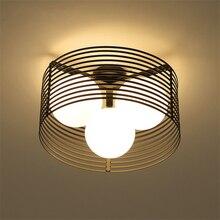 цена MOdern Light Led Loft E27 Ceiling Lights Sala Dimming Ceiling Lamps Black Light Body Living Room Bedroom Kitchen Lamps Luminaria онлайн в 2017 году