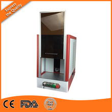 Fiber Laser Coder Printing Machine 20W with Protect Enclosure and Embedded Computer, Original Software Wholesale in Espania