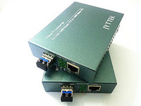 SFP Media Converter 1000 M Monomodo Fibra Dual 20 KM 1310nm LC Gigabit Transceptor fuente de Alimentación Externa