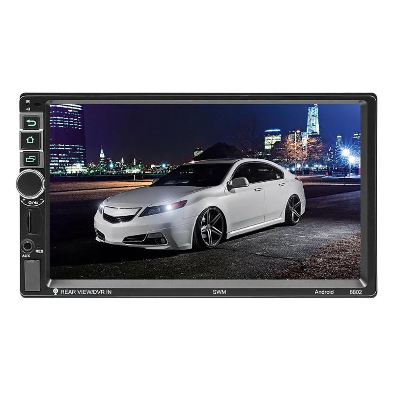 Nouveau SWM 8802 amélioré 7 pouces HD Bluetooth MP5 lecteur véhicule général GPS Navigation unité Android 8.1 avec GPS/WIFI/FM RAC basse
