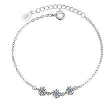 XIYANIKE-pulsera de plata de primera ley con forma de cubo para mujer, brazalete, plata esterlina 925, Circonia cúbica, zirconia, circonita, zirconita, diseño creativo, personalizable