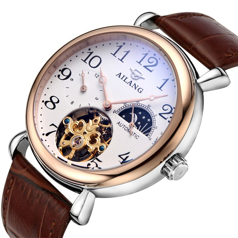 Mens watches best luxury brand in 2016 AILANG mens sports watch Tourbillon automatic leather watch Relogio Hotel masculinoMens watches best luxury brand in 2016 AILANG mens sports watch Tourbillon automatic leather watch Relogio Hotel masculino
