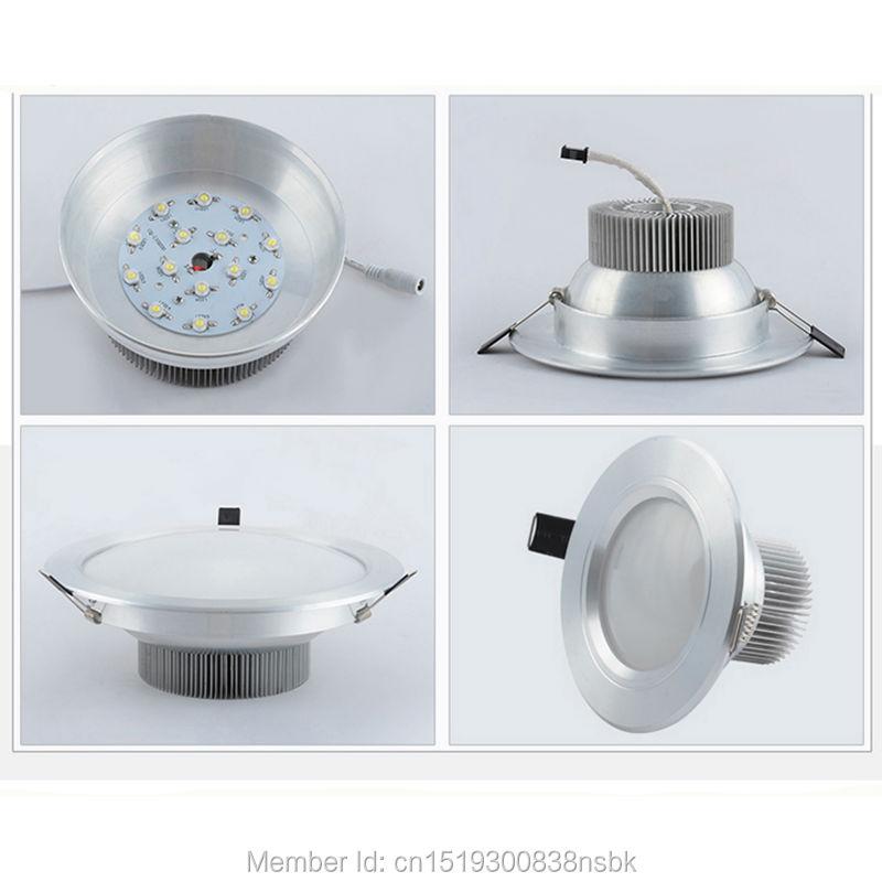 (50PCS / Lot) Epistar Chip 3 il Zəmanət 5W 7W 12W 18W 30W COB LED - LED işıqlandırma - Fotoqrafiya 5