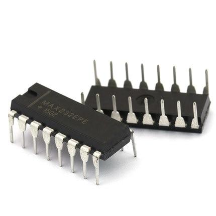 4pcs MAX232 EPE RS232 serial port IC