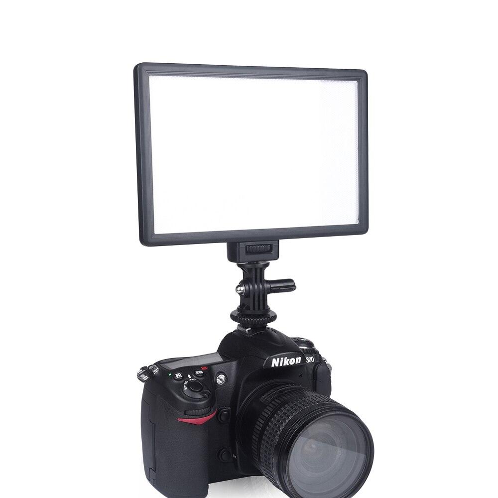 Image 2 - Viltrox L116B Camera Super Slim LCD Display Dimmable Studio LED  Video Light Lamp Panel for Camera DV Camcorder DSLR Photovideo light  lampled video light lampled video light